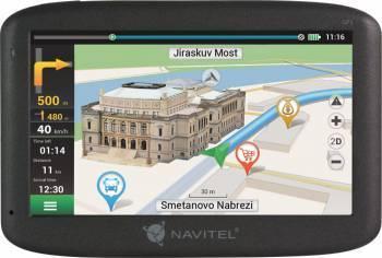 GPS-навигатор Navitel E500 5 черный