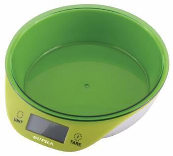 Кухонные весы Supra BSS-4086 зеленый
