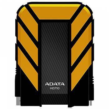Внешний жесткий диск 2Tb A-Data HD710 DashDrive Durable желтый USB 3.0