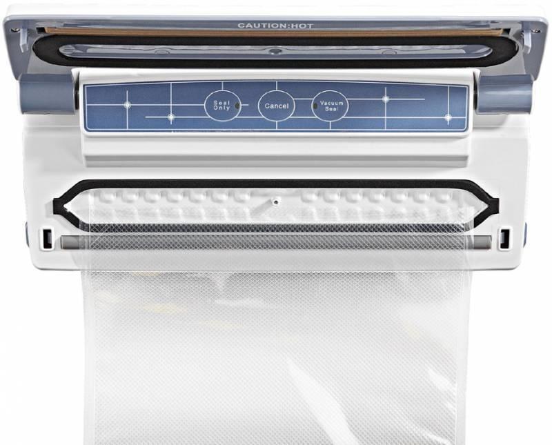 Вакуумный упаковщик Gorenje VS110W серебристый - фото 2