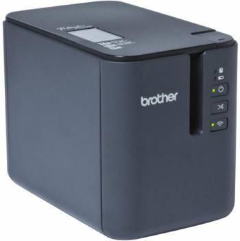 Принтер для печати наклеек Brother PTP-900W светло-серый / черный