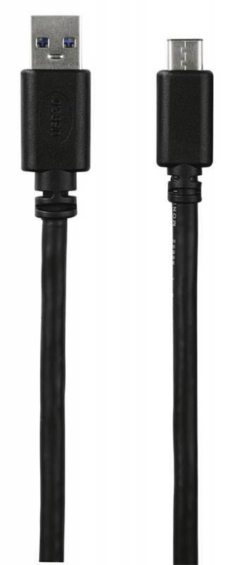 Кабель Hama USB Type-C (m)-USB A(m) 1м (00135722) - фото 2