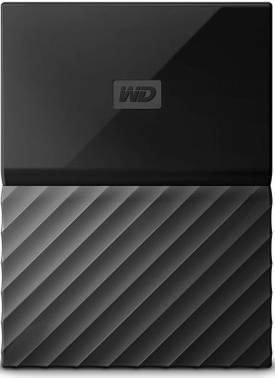 Внешний жесткий диск 3Tb WD WDBUAX0030BBK-EEUE My Passport черный USB 3.0