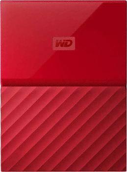 Внешний жесткий диск 3Tb WD WDBUAX0030BRD-EEUE My Passport красный USB 3.0