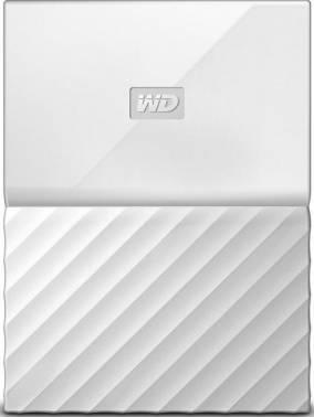 Внешний жесткий диск 3Tb WD WDBUAX0030BWT-EEUE My Passport белый USB 3.0