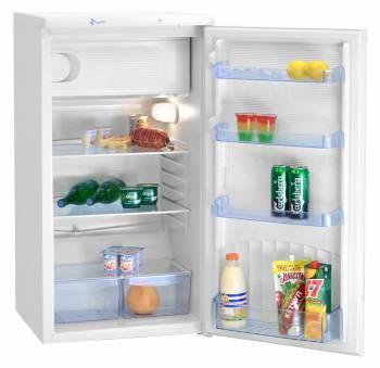 Холодильник Nord ДХ 247 012 белый, однокамерный, общий объем 184л, размораживание холодильной камеры: автоматическое, размораживание морозильной камеры: ручное