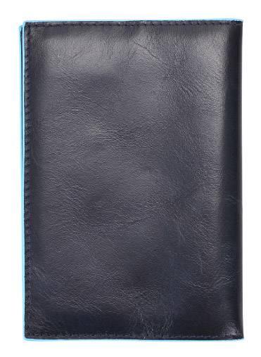 Обложка для паспорта Piquadro Blue Square синий, кожа натуральная (AS300B2/BLU2) - фото 3