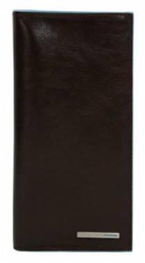 Портмоне Piquadro Blue Square коричневый, кожа натуральная (AS341B2/MO)