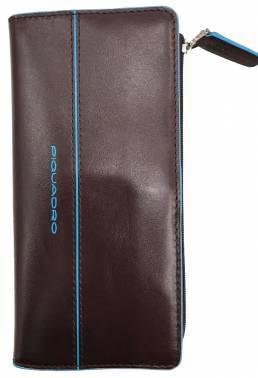 Портмоне Piquadro Blue Square AS458B2 / MO коричневый натур.кожа