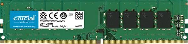 Модуль памяти DIMM DDR4 8Gb Crucial CT8G4DFS8213 - фото 1
