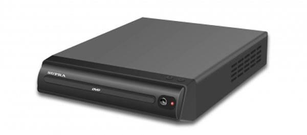 Плеер DVD Supra DVS-202X черный - фото 1