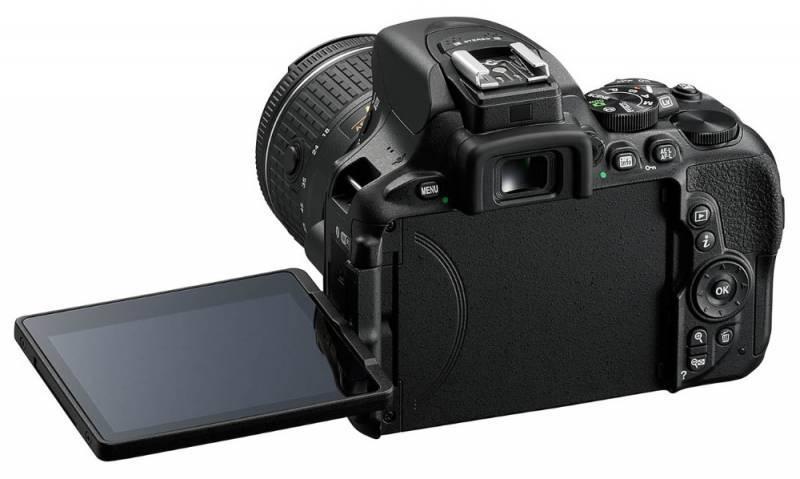 Фотоаппарат Nikon D5600 черный, 1 объектив (VBA500K001) - фото 2