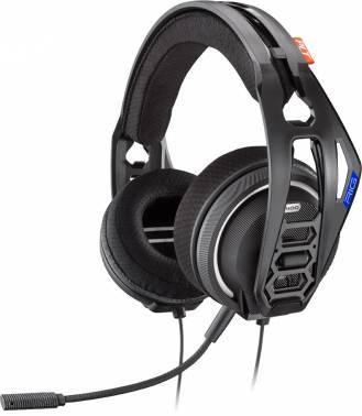 Наушники с микрофоном Plantronics RIG 400HS черный