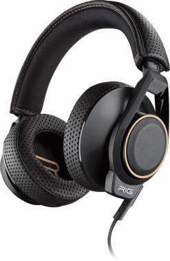 Наушники с микрофоном Plantronics RIG 600 черный (206806-05)