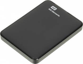 Внешний жесткий диск 1Tb WD WDBUZG0010BBK-EESN Elements Portable черный USB 3.0