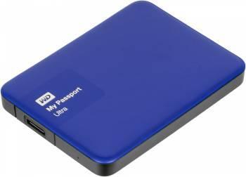 Внешний жесткий диск 500Gb WD WDBBRL5000ABL-EEUE My Passport Ultra синий USB 3.0