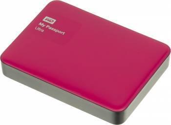 Внешний жесткий диск 3Tb WD WDBNFV0030BBY-EEUE My Passport Ultra красный USB 3.0