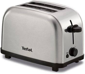 Тостер Tefal TT330D30 серебристый/черный (8000035883) - фото 1