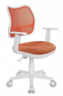 Кресло детское Бюрократ CH-W797 оранжевый/оранжевый (CH-W797/OR/GIRAFFE)