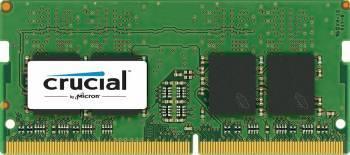 Модуль памяти Crucial CT4G4SFS8213, объем 1 х 4Gb, форм-фактор SO-DIMM 260-pin, тип памяти DDR4, рабочая частота 2133MHz, тайминги 9-9-9, unbuffered
