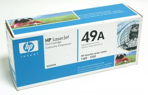 Тонер Картридж HP 49A Q5949A черный - фото 2