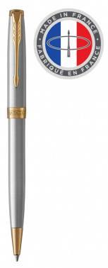Ручка шариковая Parker Sonnet Core K527 Stainless Steel GT (1931507)