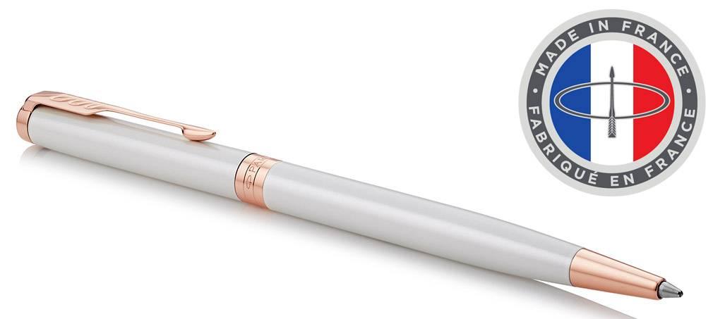 Ручка шариковая Parker Sonnet Premium Slim K440 Pearl PGT (1931556) - фото 1