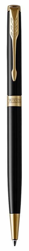 Ручка шариковая Parker Sonnet Core K430 Slim LaqBlack GT (1931498) - фото 2