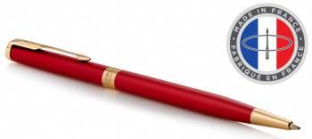 Ручка шариковая Parker Sonnet Core K439 Slim LaqRed GT (1931477)