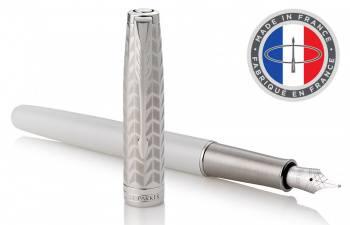 Ручка перьевая Parker Sonnet Premium F540 Pearl Metal PGT (1931547)