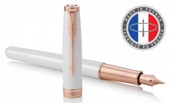 Ручка перьевая Parker Sonnet Premium F540 Pearl PGT (1931552)