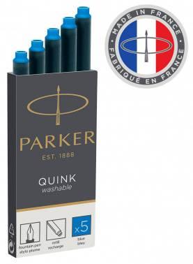 Картридж Parker (1950383) синие чернила для ручек перьевых