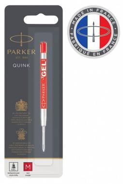 Стержень гелевый Parker Quink GEL Z05 (1950345) M красные чернила для ручек шариковых
