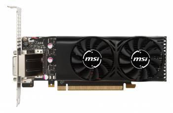 Видеокарта MSI GTX 1050 2GT LP 2048 МБ