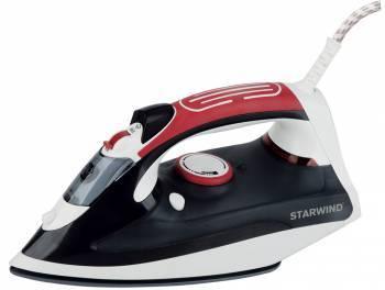 Утюг Starwind SIR6820 черный / красный