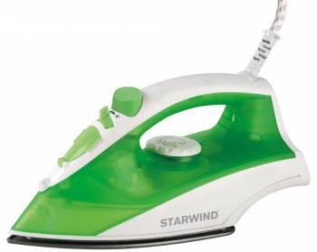 Утюг Starwind SIR3635 зеленый / белый