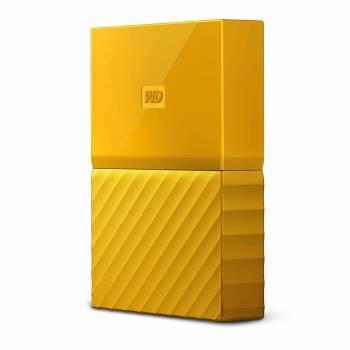 Внешний жесткий диск 1Tb WD WDBBEX0010BYL-EEUE My Passport желтый USB 3.0