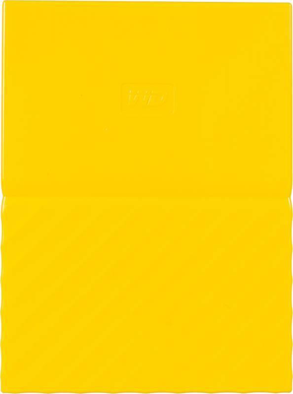 Внешний жесткий диск 4Tb WD My Passport WDBUAX0040BYL-EEUE желтый USB 3.0 - фото 2