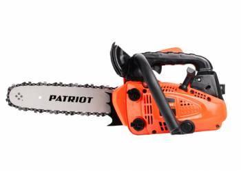 Бензопила Patriot PT2512 1000Вт, длина пильной шины 30см
