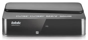 Ресивер DVB-T2 BBK SMP001HDT2 темно-серый