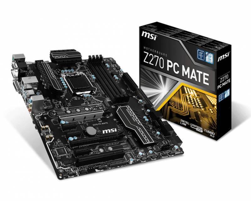 Материнская плата MSI Z270 PC MATE Soc-1151 ATX - фото 5
