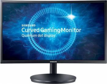 Монитор 23.5 Samsung C24FG70FQI темно-серый