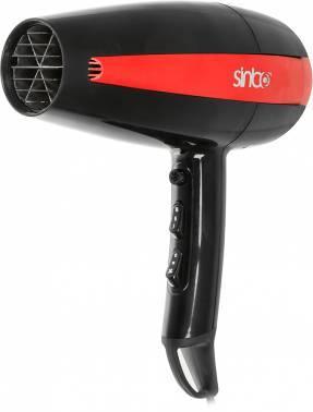 Фен Sinbo SHD 7056 красный / черный