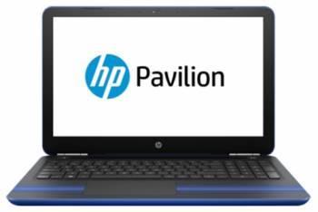 Ноутбук HP Pavilion 15-au126ur, процессор Intel Core i3 7100U, оперативная память 4Gb, жесткий диск 1Tb, привод DVD-RW, видеокарта Intel HD Graphics 620, диагональ 15.6, 1366x768, Windows 10 64-bit, синий (Z6K52EA)
