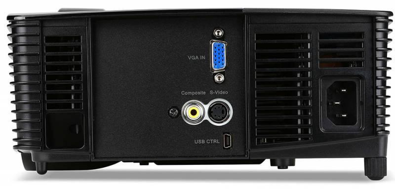Проектор Acer X115 черный - фото 2