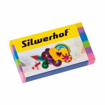 Ластик Silwerhof 181115 Пластилиновая коллекция ассорти
