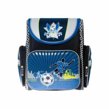 Ранец Silwerhof Sport черный/синий, полиэстер