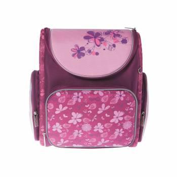 Ранец Silwerhof FLOWERS розовый/фиолетовый, полиэстер