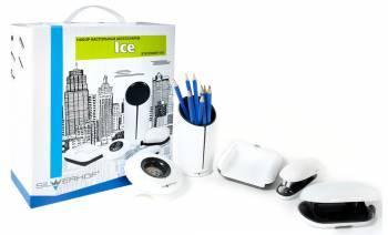 Настольный набор Silwerhof ICE (5 предметов) белый