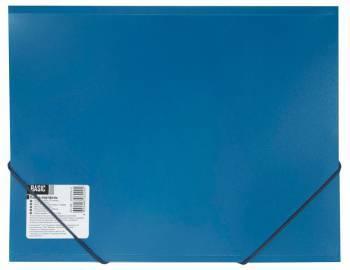 Папка-портфель Silwerhof Basic 255078-02 А4 синий